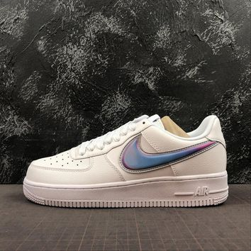 "Nike Air Force 1 Low ""Oversized Swoosh"" White/Blue"" - Best Online Sale"