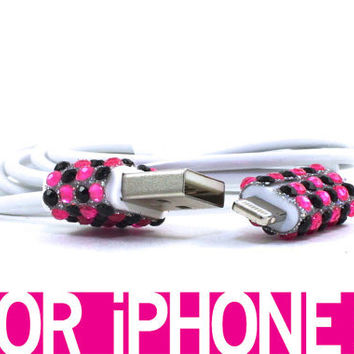 Rockin' Out iPhone Charger for iPhone 5 by LunatixGraffiti on Etsy