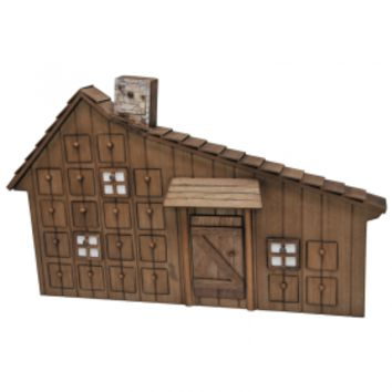 Little House on the Prairie® Advent Calendar with Removable Ornaments