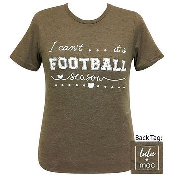 Girlie Girl Originals Lulu Mac It's Football Season T-Shirt