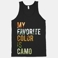 My Favorite Color Is Camo