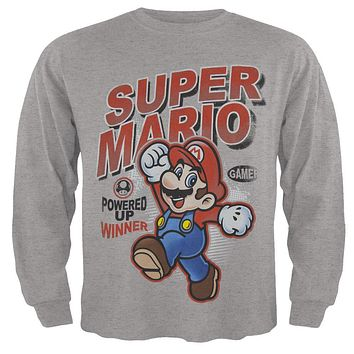 Nintendo - Powered Up Winner Juvy Long Sleeve T-Shirt