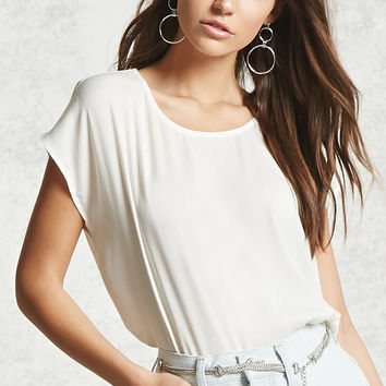 Contrast Boxy Top