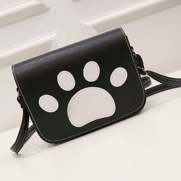 Fashion Cute Claw Pattern Shoulder Bag Crossbody Mini Bag