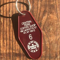 Friends - Central Perk Motel Key Fob