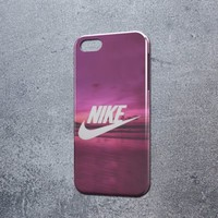 Pink nike Paradise pastel iphone 5c  6 6plus and samsung galaxy S5 S6 S7 case