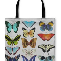 Tote Bag, Butterflies