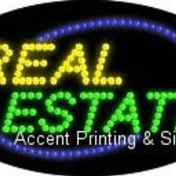 Real Estate Flashing & Animated LED Sign (High Impact, Energy Efficient)