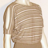 80s Diane Von Furstenberg Slouchy Sweater Top | NeldasVintageClothing - Clothing on ArtFire