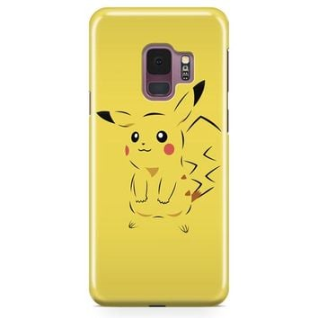 Cute Pikachu Samsung Galaxy S9 Case | Casefantasy