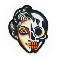 Skull Woman Patch