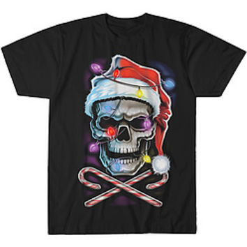 Skull And Cross Canes Tee