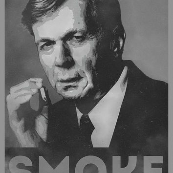 'Smoke! Funny Obama Hope Parody (Smoking Man) ' by badbugs