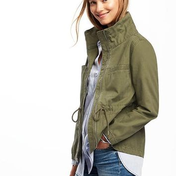 Twill Field Jacket for Women | Old Navy