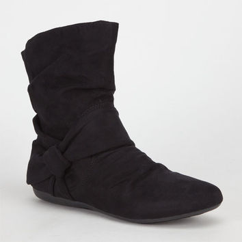 Report Elwood Womens Boots Black  In Sizes