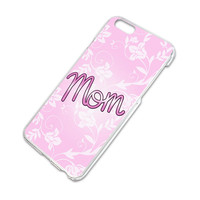Mom Lovely Flowers iPhone 6 Slim Fit Case