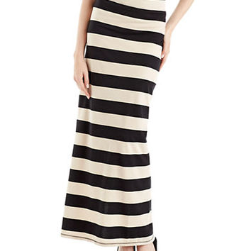 Free People Striped Maxi Skirt