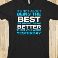the best shirt-Unisex Black T-Shirt