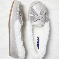 AEO SHIMMERY COZY SLIPPER