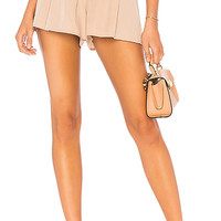 Lovers + Friends Tati Short in Sandstone