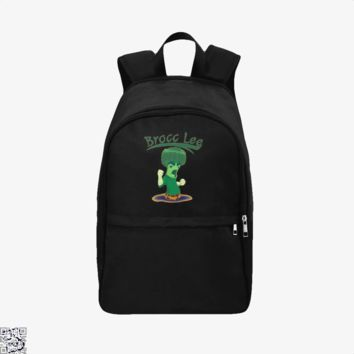 Brocc Lee Parody Rock Lee, Naruto Backpack
