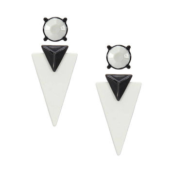 Color Block Swing Stud Earrings not available