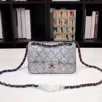 CHANEL WOMEN'S CLASSIC HOT STYLE LEATHER CHAIN SHOULDER BAG