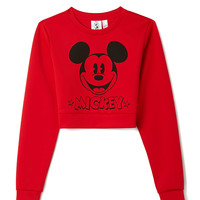 Classic Mickey Crop Top