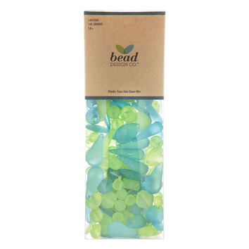 Sea Glass Bead Mix | Hobby Lobby | 1491042