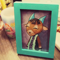 Animal Crossing CHOOSE YOUR VILLAGER Custom Framed Portrait/Picture