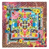 Christian Lacroix Pretty Voodoo Square Silk Scarf | Nordstrom