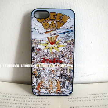 Classic Vintage Rock N' Roll Collection Geen Day Dookie handmade iphone case 3G phone case , iphone case 4 4S , iphone 5 case
