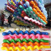 Hot 50PCS Colorful Latex Rubber Helium Spiral Balloons for Wedding  Party  D_L [8361477639]