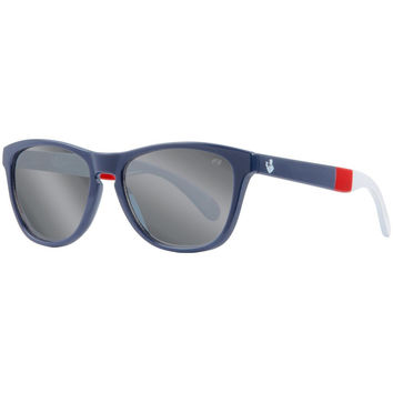 Way Blue Two Tone Navy Frame Sunglasses