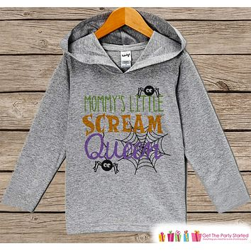 Girls Halloween Shirt - Funny Halloween Hoodie - Mommy's Scream Queen - Girls Halloween Hoodie - Happy Halloween Hoodie - Halloween Costume
