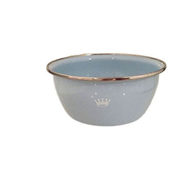 Golden Rabbit Royal Crown Enamelware Baby Feeding Bowl