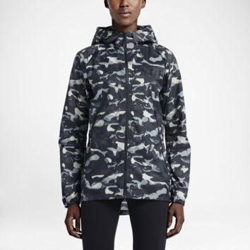 Nike T/F Camo Windrunner Women's Jacket