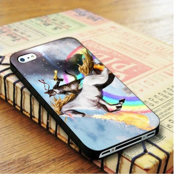 Cat Riding Unicorn iPhone 4 | iPhone 4S Case