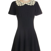 Short Sleeves A-line TA-mazing Dress