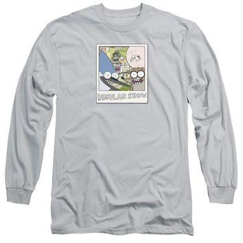 Regular Show - Instant Picture Long Sleeve Adult 18/1 Officially Licensed Shirt