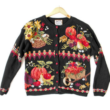 Thanksgiving Harvest Tacky Ugly Sweater - The Ugly Sweater Shop