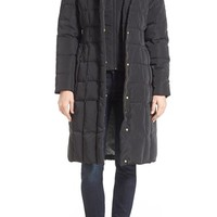 Cole Haan Bib Insert Down & Feather Fill Coat | Nordstrom
