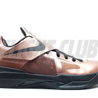 "zoom kd 4 ""christmas"" - mtlc bronze/black-chllng red - Kevin Durant - Nike Basketball - Nike 