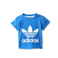 adidas Originals Kids Trefoil Tee (Infant/Toddler) Bluebird/White HO13 - Zappos.com Free Shipping BOTH Ways