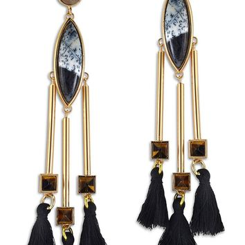 Natalie Waldman 'Pyramid' Drop Earrings | Nordstrom