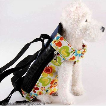 Medium - Large Deluxe Saddle  Dog Cat Pet Puppy Dog Carrier Backpack Front Tote Carrier Net Bag Size M/L NEW