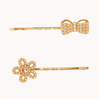 Faux Pearl Hair Pin Set | FOREVER 21 - 1060935530
