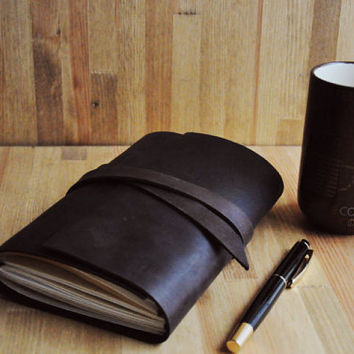 best personalized leather journals products on wanelo