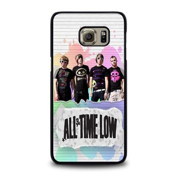 all time low personil band samsung galaxy s6 edge plus case cover  number 1