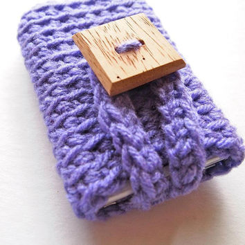 iPhone 4 case cell phone cover or mp3 player cozy by mostlyjonah